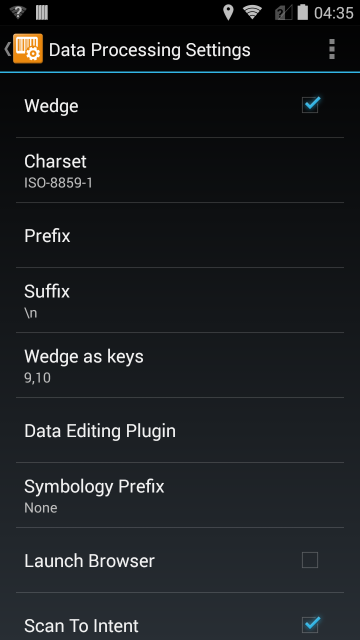 Android Data Processing Settings: What is