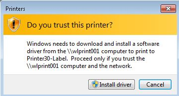Unattended print driver install no longer possible after