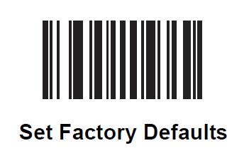 How to restore defaults on an 8820 (LS3578) scanner.